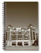 Texas Rangers Ballpark In Arlington Spiral Notebook