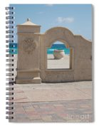 The Beach In Hollywood Florida Spiral Notebook