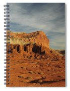The Castle, Capitol Reef National Park Spiral Notebook