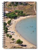 The Famous Psili Ammos Beach Spiral Notebook
