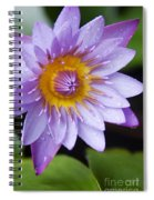 The Lotus Flower Spiral Notebook
