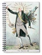 Thomas Paine (1737-1809) Spiral Notebook