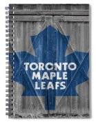 Toronto Maple Leafs Spiral Notebook
