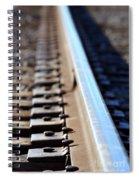 Train Track Spiral Notebook