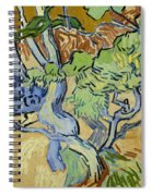 Tree Roots Spiral Notebook