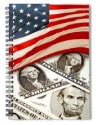Usa Finance Spiral Notebook