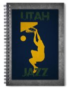 Utah Jazz Spiral Notebook