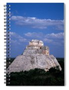 Uxmal Ruins Spiral Notebook