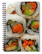 Vegetable Sushi Spiral Notebook