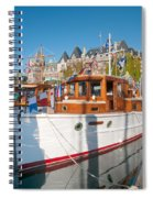 Victoria Wooden Boat Show Spiral Notebook