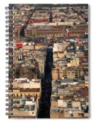 View From Torre Latinoamerican Spiral Notebook