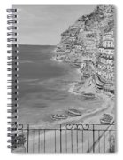 Vista Su Positano Spiral Notebook