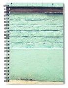 Wall Background Spiral Notebook