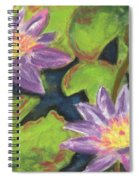Water Lilies I Spiral Notebook