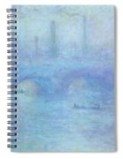 Waterloo Bridge Spiral Notebook