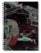 4 Wheelin Spiral Notebook