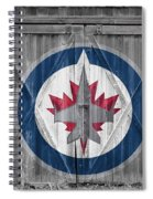 Winnipeg Jets Spiral Notebook