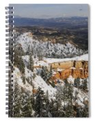 Winter Scene, Bryce Canyon National Park Spiral Notebook