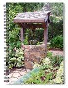 Wishing Well Spiral Notebook