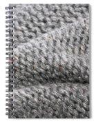 Wool Background Spiral Notebook