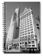 Chicago Skyscrapers Spiral Notebook