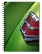 40 Ford - Tail Light-8531 Spiral Notebook