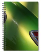 40 Ford - Tank N Tail Light-8527 Spiral Notebook
