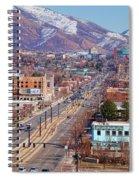 400 S Salt Lake City Spiral Notebook