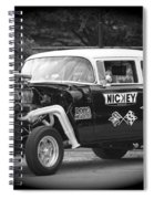 409 Cu Inches Black And White Spiral Notebook