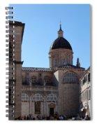 Views Of Dubrovnik Croatia Spiral Notebook