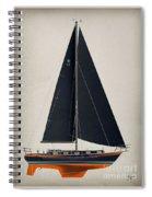 42 Black Sails Spiral Notebook