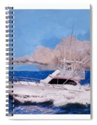 Storm Chasing On The High Seas Spiral Notebook