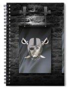 Oakland Raiders Spiral Notebook