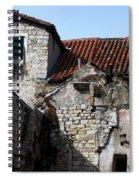 Views Of Split Croatia Spiral Notebook