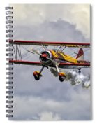 450 Hp Stearman Spiral Notebook