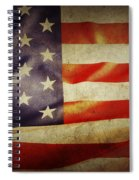 American Flag Spiral Notebook