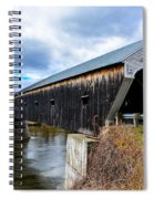 460 Foot Long New Hampshire Covered Bridge Spiral Notebook