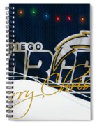 San Diego Chargers Spiral Notebook
