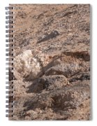 White Desert Spiral Notebook