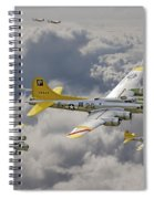 487th Bomb Group Spiral Notebook