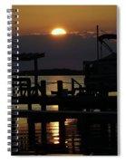 An Outer Banks Of North Carolina Sunset Spiral Notebook