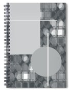 49th Shade Of Gray Spiral Notebook