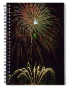 4th July #2 Spiral Notebook