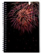 4th Of July 9 Spiral Notebook