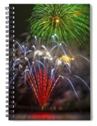 4th Of July Through The Lens Baby Spiral Notebook