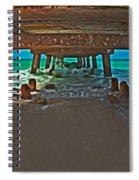 4x1 Under Fishing Pier Spiral Notebook