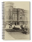 16th Street Baptist Church In Black And White With A White Vingette Spiral Notebook
