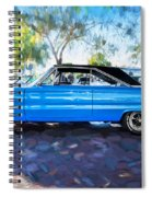 1967 Plymouth Belvedere Gtx 440 Painted  Spiral Notebook