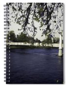 A Wonderful Suspension Bridge Over The River Ness In Inverness Spiral Notebook