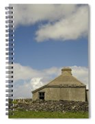 Abandoned Farm In Ireland Spiral Notebook